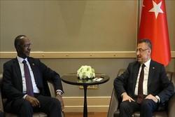 معاون رئیسجمهوری ترکیه با همتای سودانی خود دیدار کرد