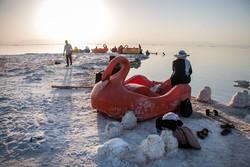 Urmiye Gölü'nün yaz misafirleri