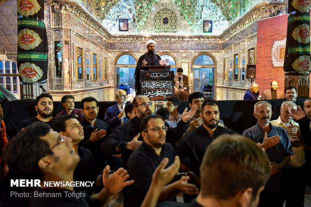مراسم العزاء بمناسبة ذكرى استشهاد سفير الامام الحسين مسلم بن عقيل