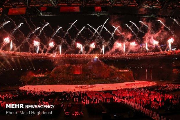 2018 Asian Games opening ceremony highlights