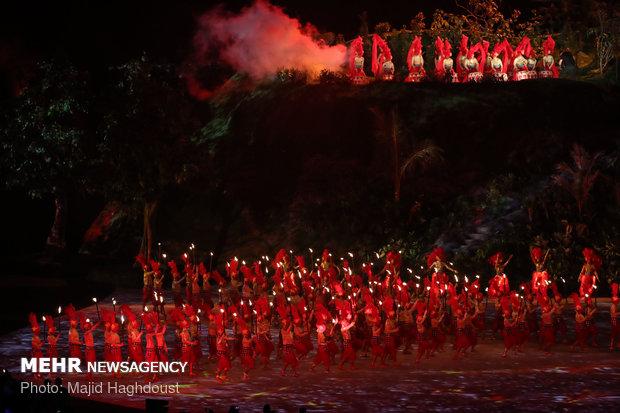 افتتاحیه مسابقات آسیایی 2018 اندونزی