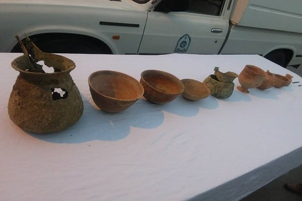 ظروف مفرغی ۳ هزار ساله در بهشهر کشف شد