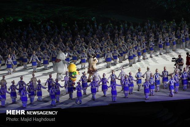 افتتاحیه بازی های آسیایی 2018 اندونزی