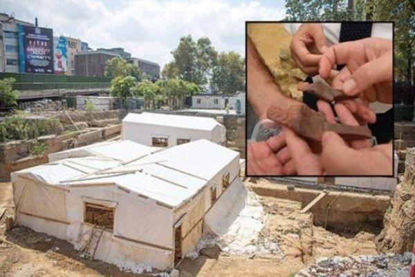 Beşiktaş metro inşaatında bulundu: Tam 5500 yaşındalar