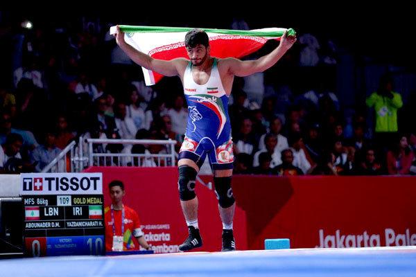 Iran's Yazdani wins UWW's Fantasy Wrestling Tournament