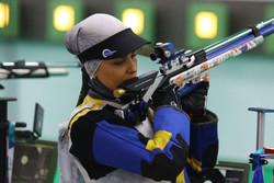 تکرار رکورد جهانی تفنگ سه وضعیت بانوان توسط الهه احمدی
