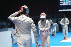 چلنج با کاپیتان تیم ملی شمشیربازی بعد از ناکامی در بازیهای آسیایی