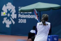 مسابقات تنیس بانوان کشور در آمل آغاز شد