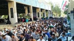 برگزاری مراسم دعای «عرفه» در مزار شهدای کرمانشاه