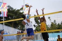 نایب قهرمانی تیم ملی والیبال ساحلی  در رقابتهای قهرمانی آسیا