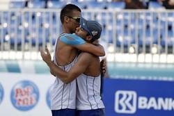 پیروزی تیم های ملی والیبال ساحلی ایران در نخستین گام