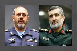 سردار حاجیزاده انتصاب فرمانده جدید نیروی هوایی ارتش را تبریک گفت