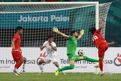Asian Games: Iran football loses to Myanmar, advances to next round