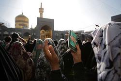 دعای عرفه در حرم مطهر رضوی طنین انداز می شود/مناجات دههاهزار عاشق