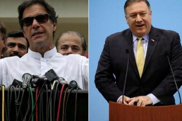پاکستان کے وزير اعظم سے امریکی وزیر خارجہ کی ملاقات