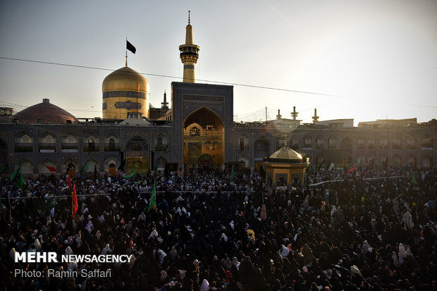Martyrdom anniv. of Imam Muhammad al-Baqir marked in Imam Reza Shrine