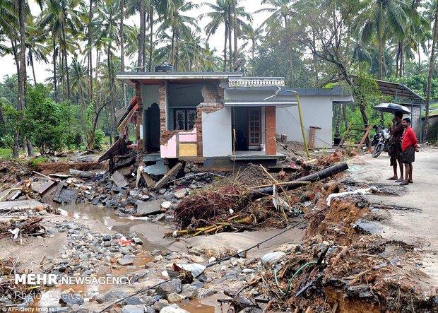 ہندوستان میں موسلا دھار بارشوں کے نئے سلسلے میں 12 افراد ہلاک