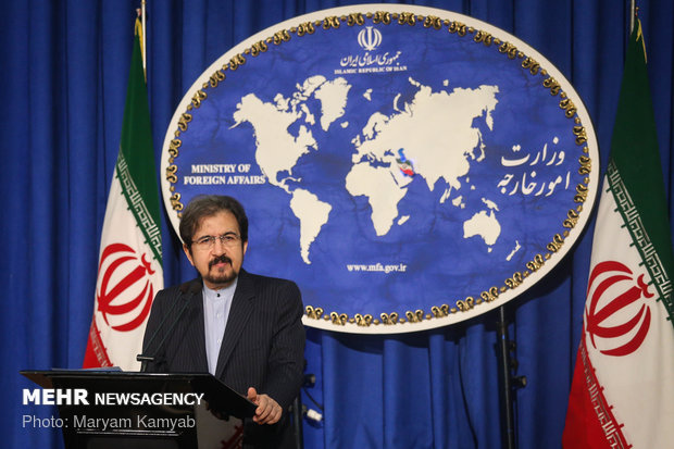 Ghasemi condemns 'irrational' EU decision on sanctioning Iran