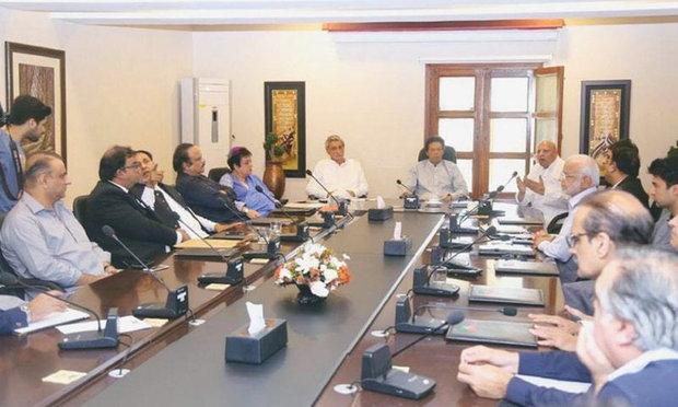 عمران خان کی زیر صدارت وفاقی کابینہ کا پہلا اجلاس