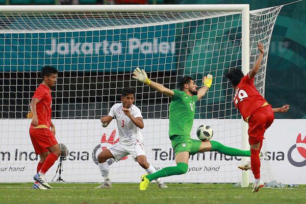 Iran U23 v Myanmar U23