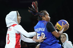 المنتخب الايراني للسيدات يشارك بمباريات كأس العالم لكرة السلة الثلاثية