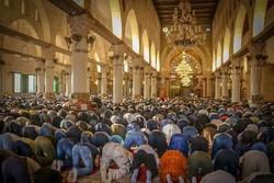 اقامة صلاة عيد الاضحى في فلسطين/صور