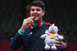 Saeid Rajabi wins 4th gold medal for Iran in Asian Games