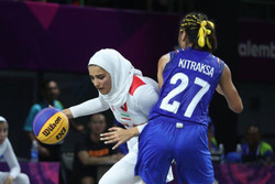 حضور بسکتبال بانوان ایران در المپیک جوانان آرژانتین
