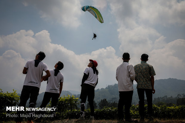 A glance at 'paraglider Asian competitions' in 2018 Asian Games