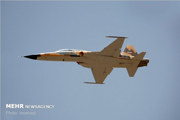 Iran test-flies 1st homegrown fighter/trainer jet 'Kosar'