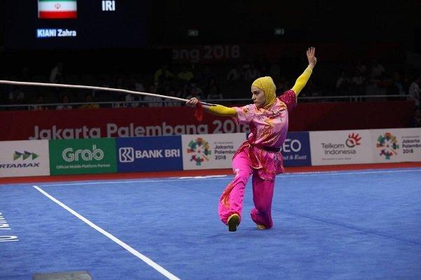 VIDEO: Zahra Kiani's impressive performance in Asian Games