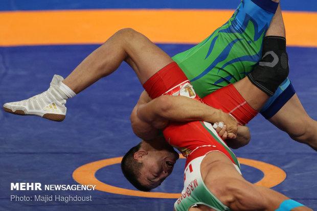 Lightweight wrestling: Asian games
