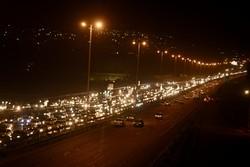 ترافیک سنگین در ورودی های تهران