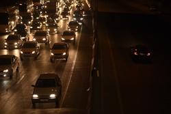 ترافیک نیمه سنگین در محور فیروزکوه