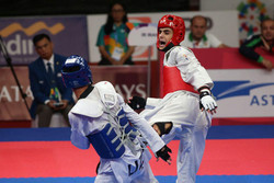 Taekwondoka wins 5th gold for Iran in Asian games