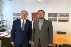 نمایندگان دائم ایران و سوئیس در وین با یکدیگر دیدار و گفتگو کردند