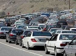 ترافیک در جاده کرج-چالوس/۱۱محور مسدود است