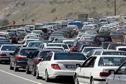 ترافیک سنگین در محور خرمآباد- پلدختر
