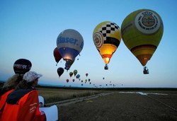 Avusturya'da balon festivali