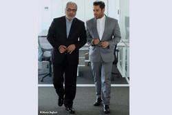 تصویری متفاوت از مهران مدیری و محمدرضا گلزار در یک فیلم
