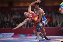 منتخب إيران يحرز المركز الرابع في بطولة العالم للمصارعة الرومانية