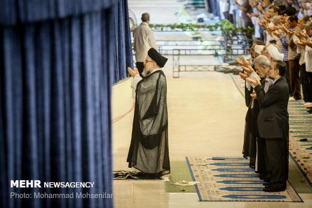 Eid al-Adha prayers at Tehran's Mosalla