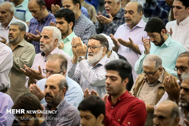 Eid al-Adha prayers at Tehran's Mosalla