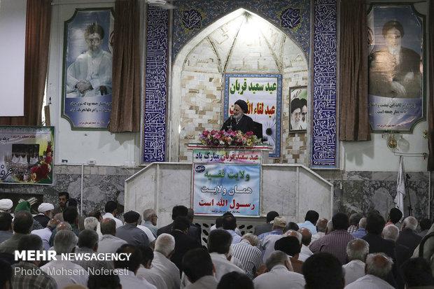 إقامة صلاة عيد الأضحى في مختلف محافظات إيران