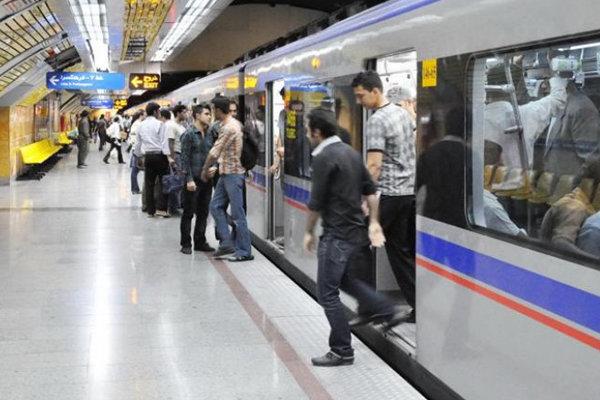 کاهش سرفاصله حرکت مترو همزمان با آغاز سال تحصیلی جدید