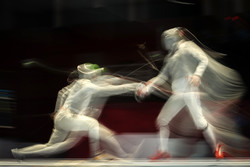 Iran team vice champion in Sabre World Cup