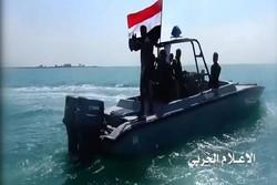 البحرية اليمنية تستهدف بارجة سعودية قبالة جيزان
