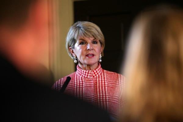 آسٹریلیا کی وزير خارجہ نے استعفی دیدیا