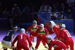 فلم/ ایرانی خواتین نے کبڈی کے میچ میں سونے کا میڈل جیت لیا