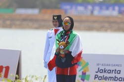 Iran's Malaei wins second gold medal at 2019 Asian Rowing Cup